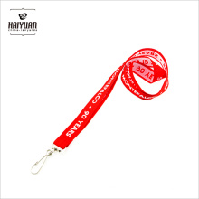 Trade Assurance Manufacturer Polyester Woven Lanyard with Custom Materials