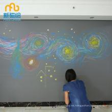 Tablero de dibujo magnético borrable grande para adulto