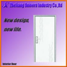Wooden Interior Doors with PVC Coating