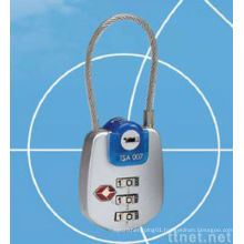 Digits Combination Zipper Padlock / TSA Lock
