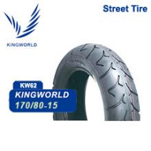 Neumático de motocicleta 170 / 80-15 de la fábrica de Qingdao