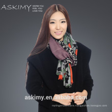 Fashionable cashmere wool printing scarf