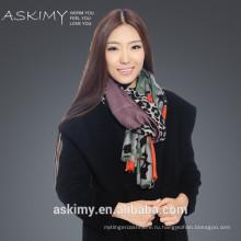 Модный кашемир шерстяной шарф печати