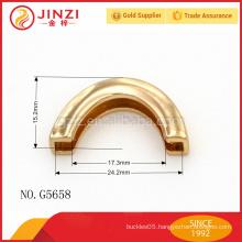 high quality fashion women leather wholesale zinc alloy handle for bag G5661