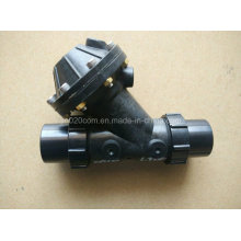 """Jieming válvula de diafragma de patrón Y de 2 """"para planta de tratamiento de agua"""
