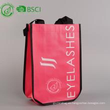 Bolsa no tejida reutilizable eco personalizado pp laminado