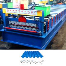 XN-750 Glazed profile roof sheeting machinery