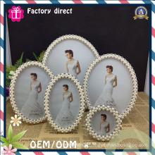 2015 Factory Direct Sale Metal Customer Design Round Photo Frame