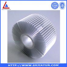 Perfil de aluminio adaptable de los accesorios de aluminio para el radiador