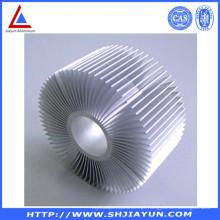 Perfil de alumínio dos acessórios de alumínio customizáveis para o radiador