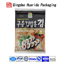 Stand up Plastic Sushi Food Packaging Bag