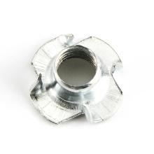 Porca Chapa de Metal Zincada Com Rosca Puncionada Desenhado