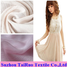 100% Polyester Crepe Chiffon for Garment Fabric