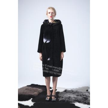 Reversible Australia Merino Shearling Long Coat