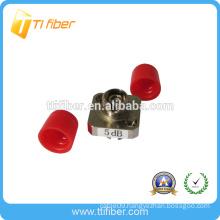 FC singlemode simplex fixed fiber optic attenuator