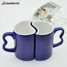 Sublimationsfarbe ändernde Paare Kaffeehaferl wholsales