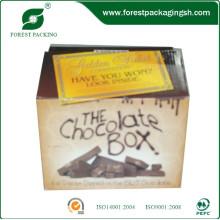 Off-Set Caja de cartón de impresión para chocolate