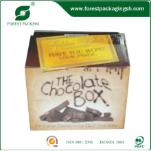 смещенное печатание коробки коробки для шоколада