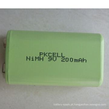 Bateria de Ni Nh Bateria de 9V 200mAh 200mah Ni-mh