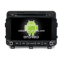 ¡Ocho nucleos! Android 7.1 DVD del coche para K5 / Optima 2015 con pantalla capacitiva de 8 pulgadas / GPS / Mirror Link / DVR / TPMS / OBD2 / WIFI / 4G