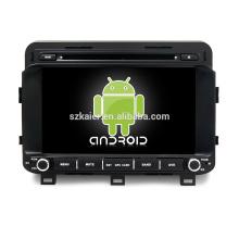 Octa core! Android 7.1 voiture dvd pour K5 / Optima 2015 avec écran capacitif de 8 pouces / GPS / lien miroir / DVR / TPMS / OBD2 / WIFI / 4G
