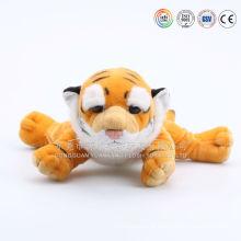 ICTI audita brinquedo do tigre da fábrica de OEM / ODM pronto para atacar