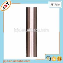 Cortina de ducha barra de tensión níquel inoxidable, venta al por mayor barra de cortina de metal set polea de cortina