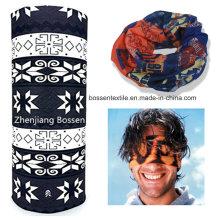 Promotional Custom Polyester Buff Style Multi Purpose Seamless Headscarf