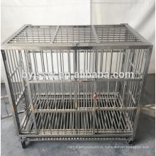 2018 nouvelle conception en acier inoxydable chien cage prix