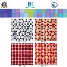 Mosaico / Coloreado / Piscina / Pared de TV / Mosaico de vidrio