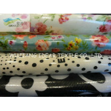 100% Cotton Printed Fabric Coated PVC For Table Cloth Fabric