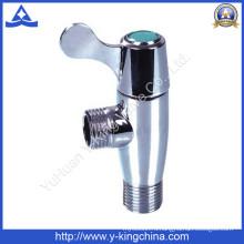 Кованые латунные угловые клапаны, изготовленные на заводе Тайчжоу (YD-5025)