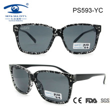 Fashionable Lady Plastic Sunglasses Made in China (PS593)