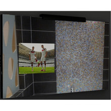 Bathroom Mirror with Light and TV