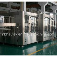 Machine de capsulage de remplissage de rinçage automatique de bouteilles