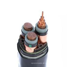 Elektrische Eigenschaften chemische Beständigkeiten Hochfestes xlpe Kabel 500mm2