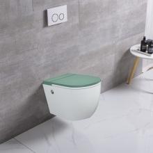 Europäische runde Form Großhandel Keramik Tankless Toilette