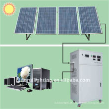 Venda quente CE 540w solar casa gerador; sistema de energia solar para family(JR-540w)