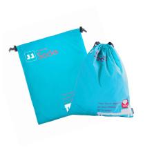сумка-шоппер из атласа с принтом
