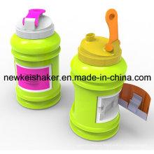 2200ml / 2500ml PETG Bouteille d'eau Pot en plastique pour aliments, bouilloire