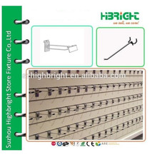 security display pegboard hooks , display unit short hooks for slatwall