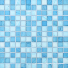 Building Material Glass Mosaic Pattern Design Swimming Pool Mosaic