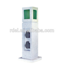 STONE SHAPE outdoor SOCKET WITH LIGHT