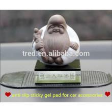 almohadilla adhesiva antideslizante del gel para el mercado de los accesorios del coche en China
