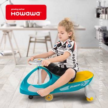 Kids Toy Riding Swivel Car Ny färg