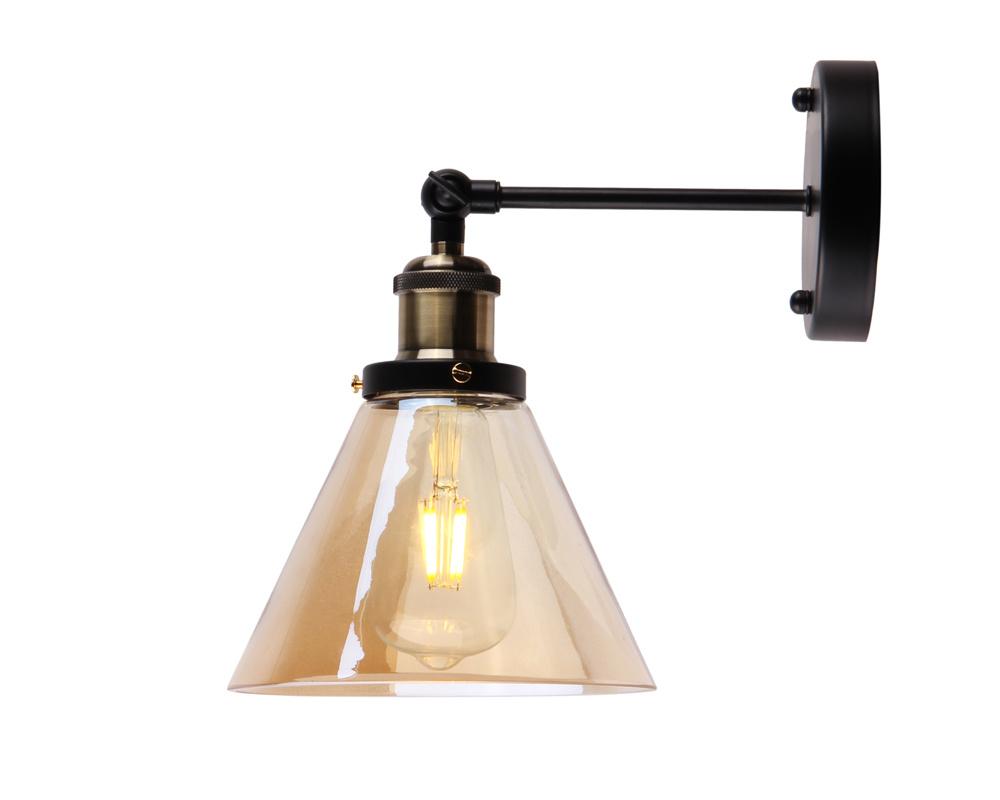 Amber Wall Lamp
