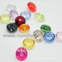 Children Transparent Plastic Button
