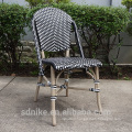 DC-(143) Modern rattan bamboo chair/ purple dining chair