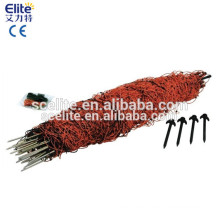 Electric fence energizer fecning netting