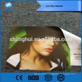 Material de publicidade 260g cor cheia pvc impressão da bandeira do flex para fazer compras
